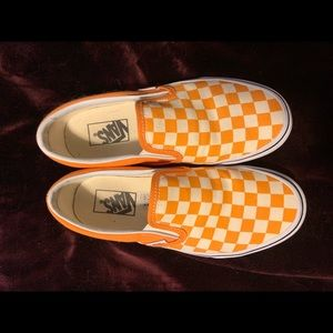 Checkered Vans!